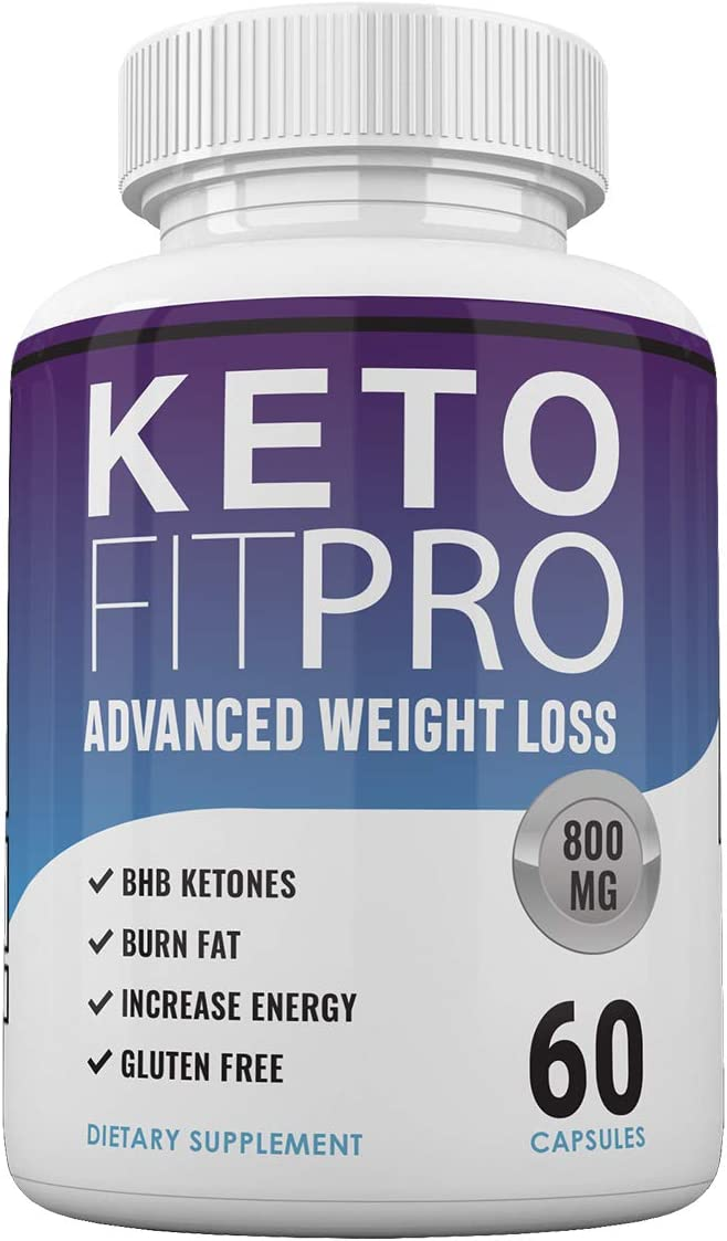 Keto Fit Pro Boost - Advanced Weight Loss with Metobolic Ketosis Support - 60 Capsules - 1 Month Supply