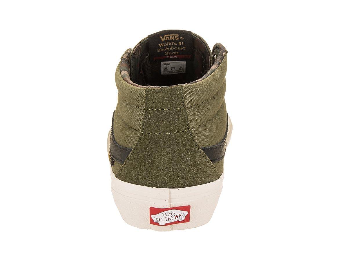 73116507dc Vans Sk8-Mid Pro (Camo Winter Moss) Men s Skate Shoes-13  Amazon.co.uk   Shoes   Bags