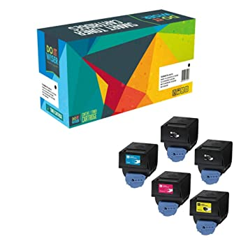 Do it Wiser Compatible Toner Cartridges Replacement for Canon GPR-23 ImageRunner C2880 C2550 C2550i
