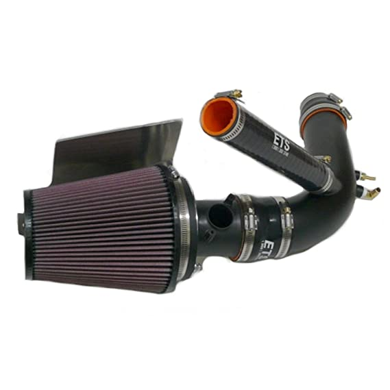 Amazon.com: ETS Black Stainless Steel Air Intake System w/ 5