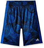 adidas Boys' Big Athletic Short, Hi-res Blue Adi M (10/12)