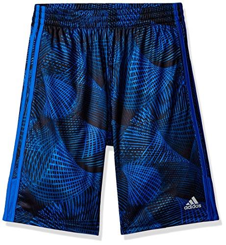 adidas Boys' Big Athletic Short, Hi-res Blue Adi, M (10/12)