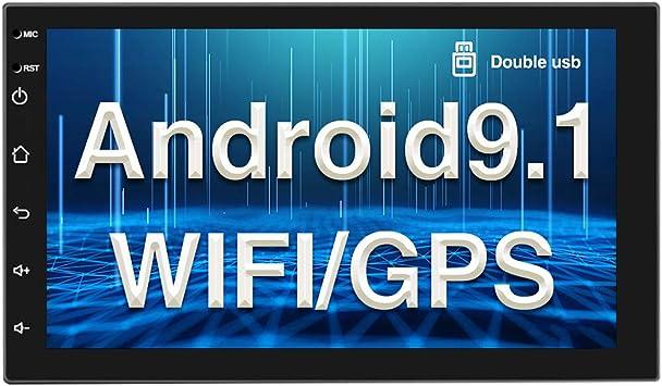Android 9 1 Autoradio Gps Bluetooth Camecho Doppel Din Elektronik