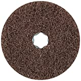PFERD 48131 Combiclick Non-Woven Disc, Soft Type, 4-1/2'' Diameter, 10,500 RPM, Medium Grit (Pack of 10)