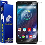 ArmorSuit Motorola Droid Turbo Screen Protector Max Coverage MilitaryShield Screen Protector for Motorola Droid Turbo - HD Clear Anti-Bubble Film