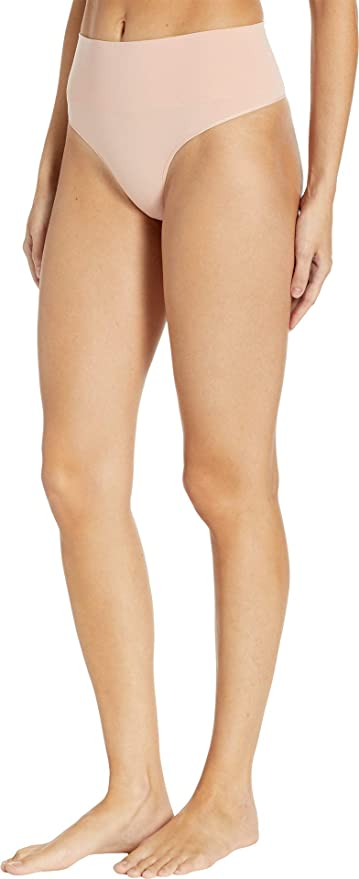 875379fb84f SPANX Women s Everyday Shaping Panties Seamless Thong at Amazon Women s  Clothing store