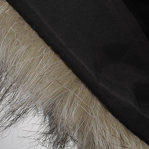 95a62f5a1 Pueri Chaquete Corta para Niñas Chaleco de Pelo Artificial de Moda Ropa  para Otoño e Invierno: Amazon.es: Ropa y accesorios