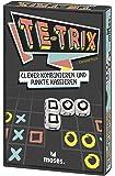 moses. 90137 Te-Trix | Clever Kombinieren und Punkte Kassieren | Würfelspiel ab 8 Jahren, Mehrfarbig