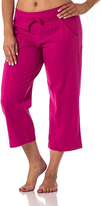 6b59e550c5f Danskin Now Women s Regular and Plus size Capri Pink S at Amazon ...