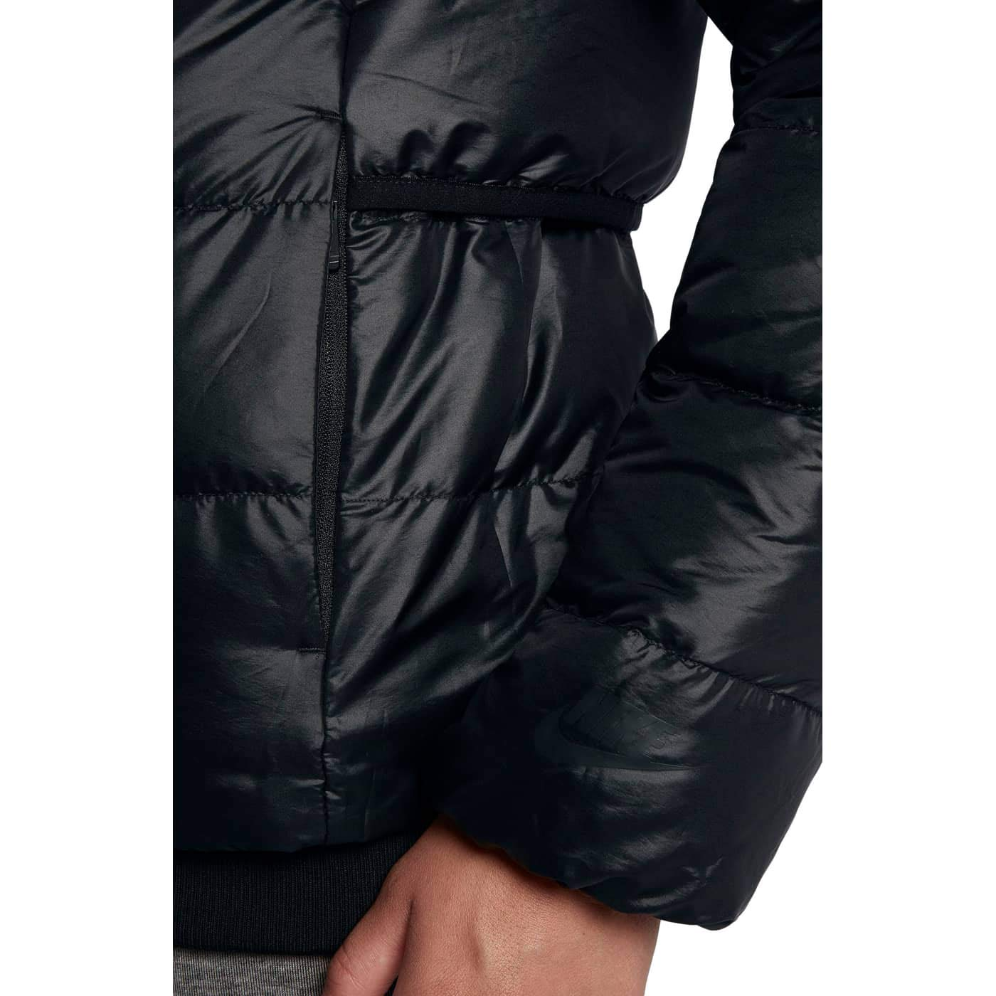 06ea7f6919e3 ... NIKE Womens Sportswear Puffer Down Jacket Black Cool Grey 854767 065 ...
