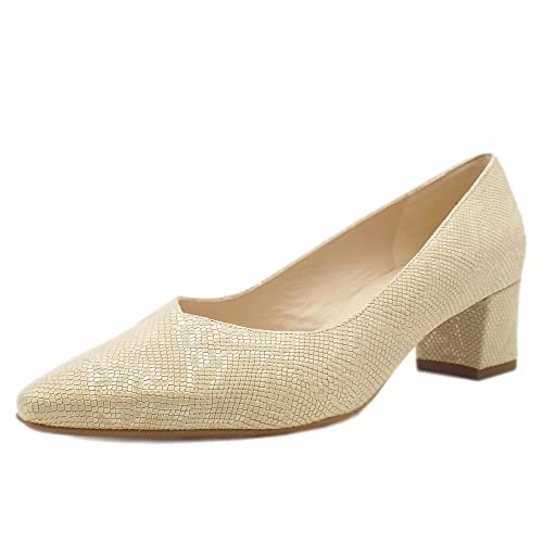 6f3f825776ed Peter Kaiser Bayli Low Heel Wide Fit Shoes In Sand Tiles  Amazon.co.uk   Shoes   Bags