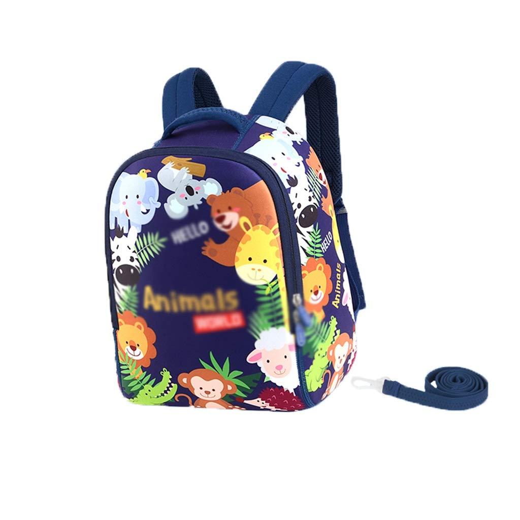 LMETBB Toddler Baby, Anti-Lost Lost Cartoon Backpack, Safety Backpack Kid Anti-Lost, Toddler Backpack, Cute Cartoon Backpack, Anti-Slip Buckle Design, boy Girl (Color : A)