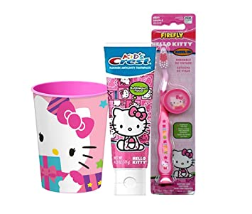 Amazon.com: Hello Kitty Inspired 4pc Bright Smile Oral ...