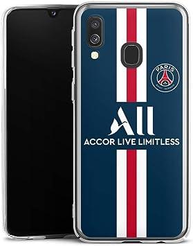 DeinDesign Coque Compatible avec Samsung Galaxy A40 Étui Housse Paris Saint-Germain Produit sous Licence Officielle PSG
