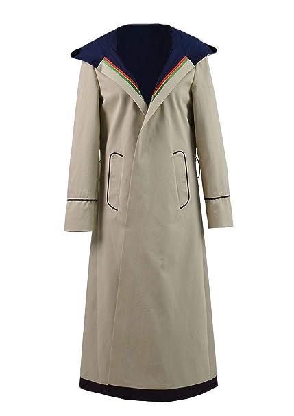 cf30448ff Classic Sci-Fi TV Series 13th Doctor Costume Women Beige Trench Coat  Overcoat