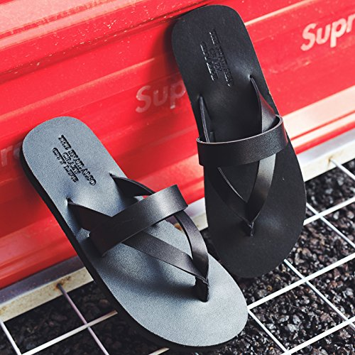 paio fondo 39 di a B uomini da pantofole e estate femmina piatto 40 spiaggia fresca Fankou nbsp;Un scarpe campi uomini nero marea 7UAW5Pq