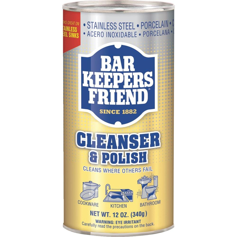 Bar Keepers Friend, Cleanser & Polish, 12 oz (340 g) thomaswi