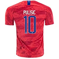 248375622 2019-2020 Pulisic #10 USA National Team Men's Home Soccer Jersey Red