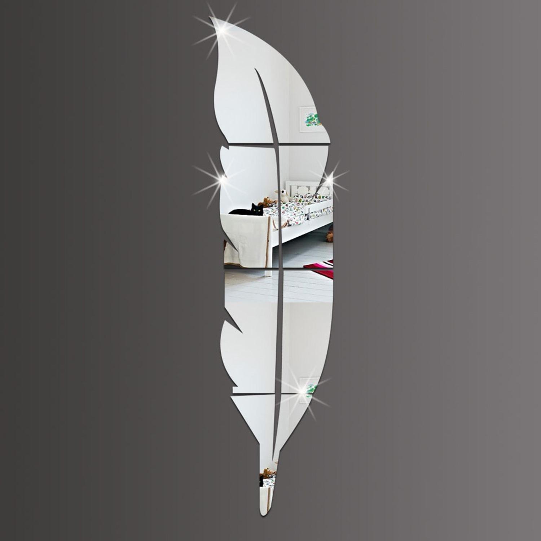 Specchio a onda da muro for Miroir plume