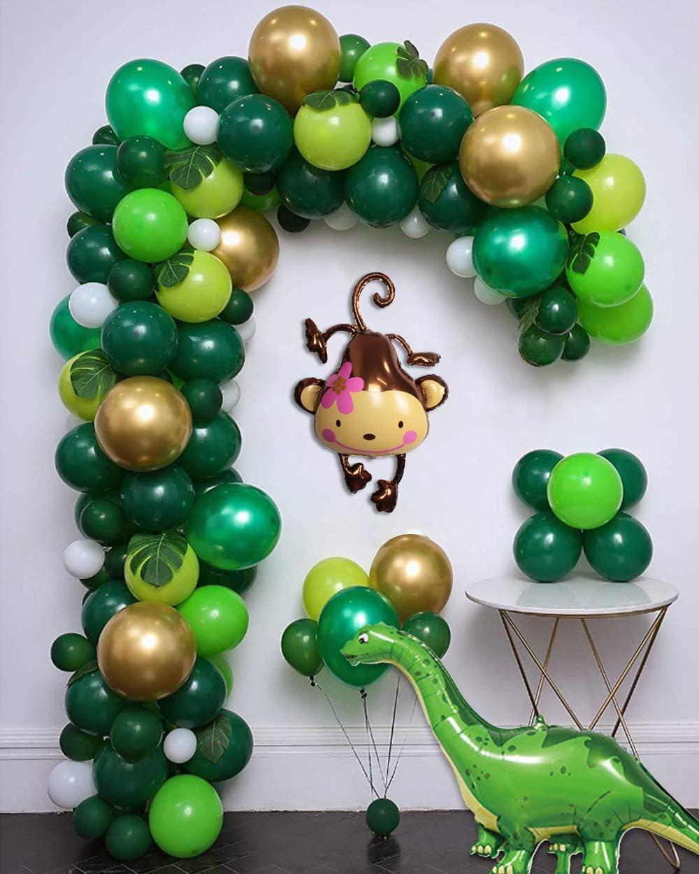 MMTX Dschungel Dinosaurier Luftballon Geburtstag Party Dekoration ...