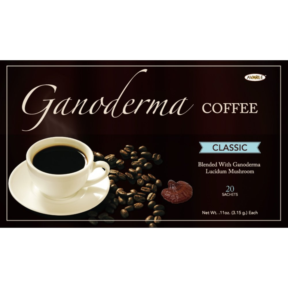 Avarle Classic Healthy Black Coffee with Ganoderma - 20 sachets
