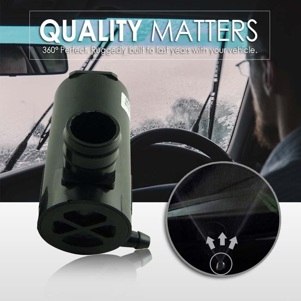 Acura 177132 38512SDAA01 Suzuki Replaces OEM #: 38512-SC4-673 Mean Mug Auto 81514-232316B Windshield Washer Pump w//Grommet 8-6720 For: Honda TR11602