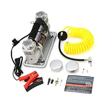Inflador de neumáticos para coches Subtop, bomba de neumáticos portátil de 12 V, 150 PSI, ...