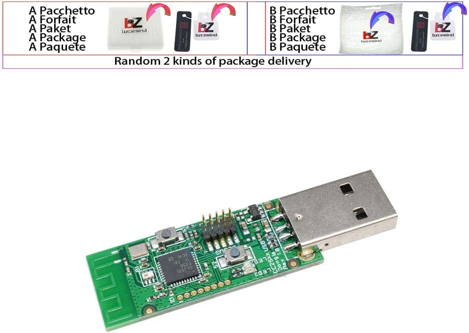Zigbee CC2531 Sniffer Carte Nue Module Analyseur de Protocole Interface USB Dongle Capture Packet Module