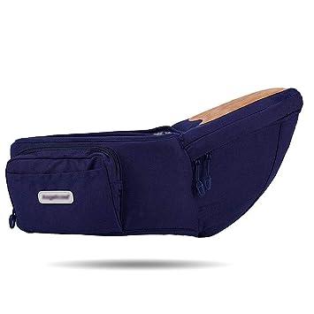 Khaki Portabeb/és para la cadera del beb/é Taburete para la cintura del beb/é para ni/ños peque/ños con bolsillo ajustable con