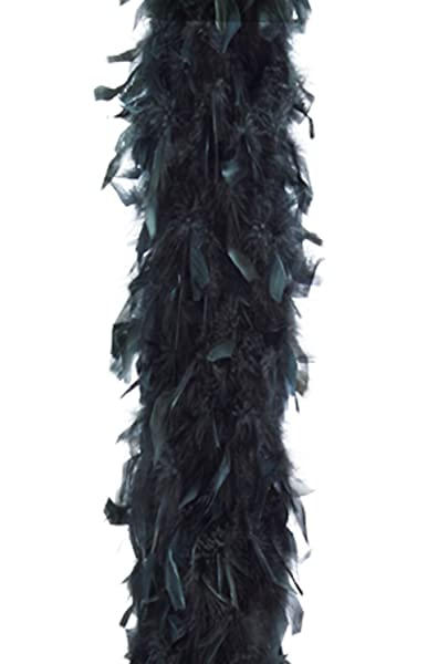 Guirca - Boa de Plumas, Color Negro, NG, 9252221008827: Amazon.es ...