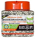 Black Ops .15 g Biodegradable Airsoft BBs - 10,000 Triple Polished Competition Grade