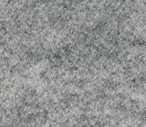 """Acrylic Felt Fabric HEATHER GREY / 72"""" Wide / Sold by the Yard"""