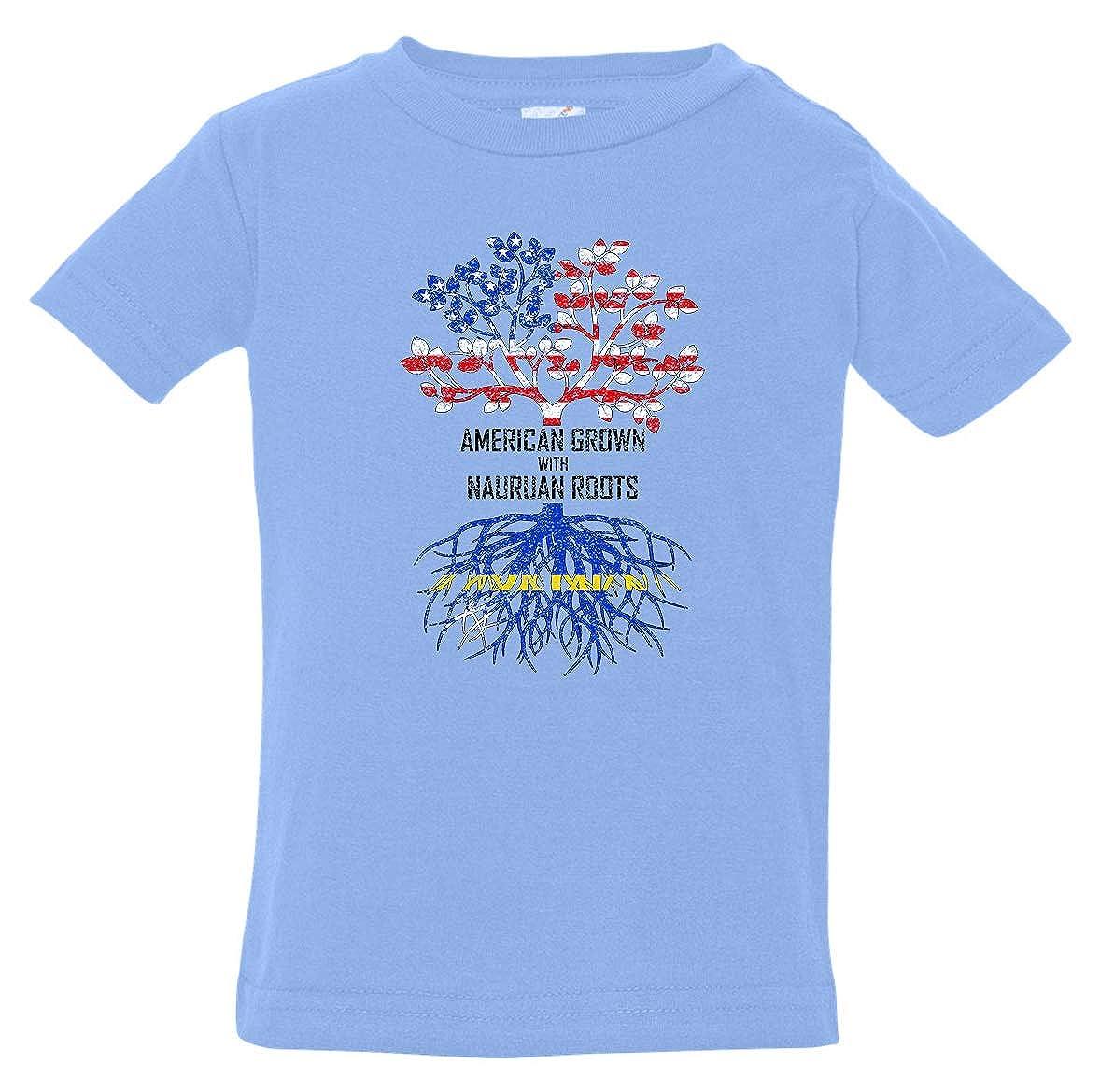 Tenacitee Babys American Grown with Nauruan Roots Shirt