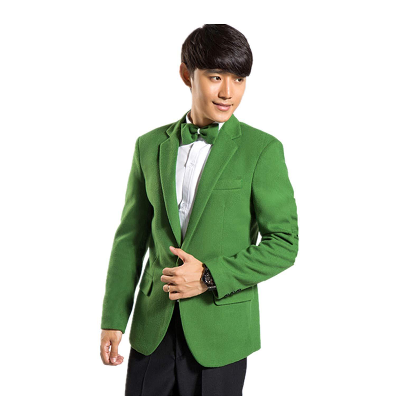 MYS Hombre Estilo coreano multicolor fiesta Smoking Traje y ...