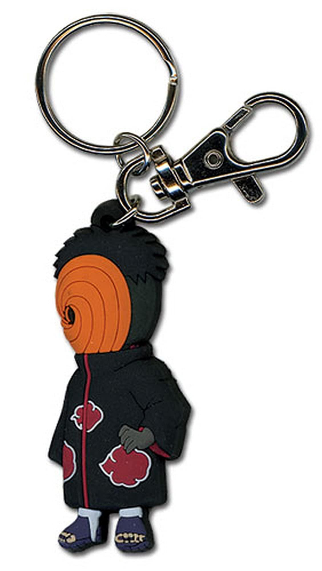 "Great Eastern Entertainment Naruto Shippuden Tobi PVC Keychain Multicolor, 2"""