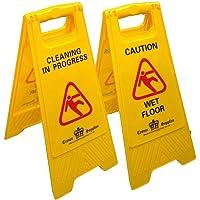 Letrero de advertencia profesional de piso mojado,