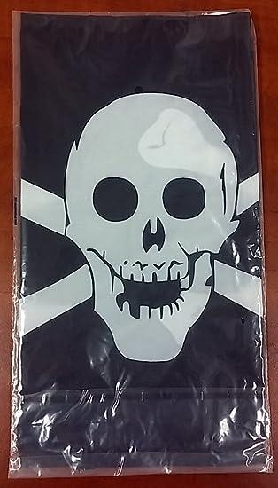 12x18 Pirate Crâne et os Drapeau 12/'x18/' bateau voiture rondelles Poly