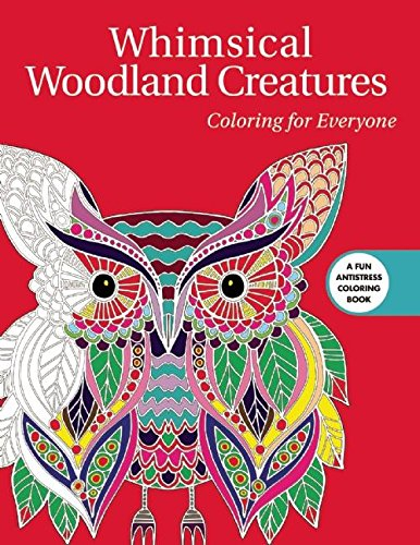 Whimsical Woodland Creatures Coloring For Everyone Creative Stress
