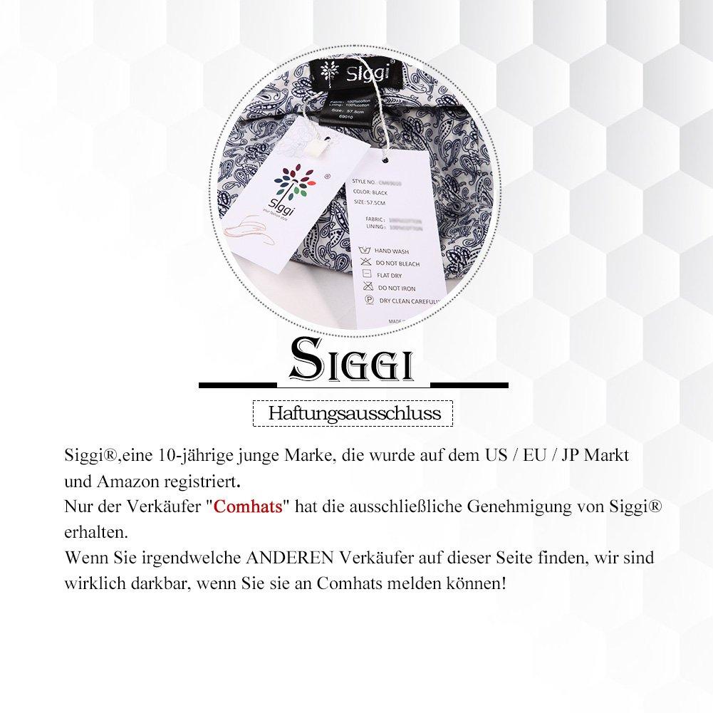 Siggi - Bombín - para Mujer Negro 16060 Black M  Amazon.es  Ropa y  accesorios d7a346f2101