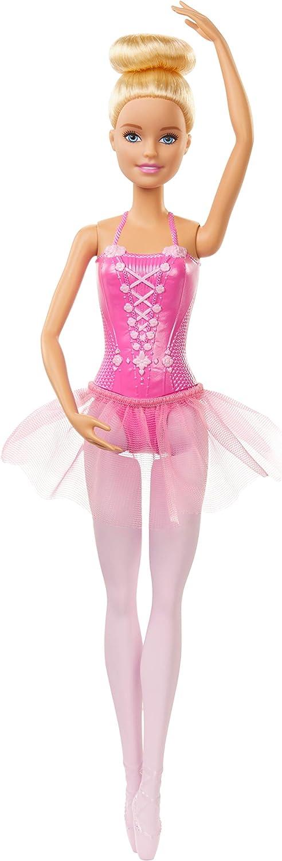 Barbie- Bailarina de Ballet Rubia Muñeca Niños +3 Años (Mattel GJL59)