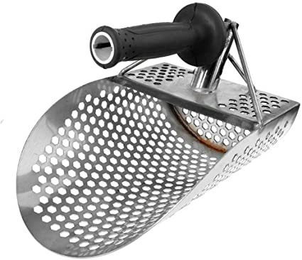 Crazywind Sand Schaufel Für Metall Erfassen Edelstahl Schaufel Jagd Zum Graben Werkzeug Zubehör Strand Sand Schaufel Küche Haushalt