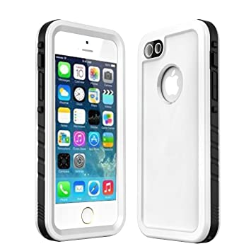check out 8dc44 ce626 iPhone SE/5S/5 Waterproof Case, iThrough 6.6ft/2M Underwater Case for  iPhone 5S , Dust Proof, Snow Proof, Shockproof Heavy Duty Touch Screen Full  Body ...