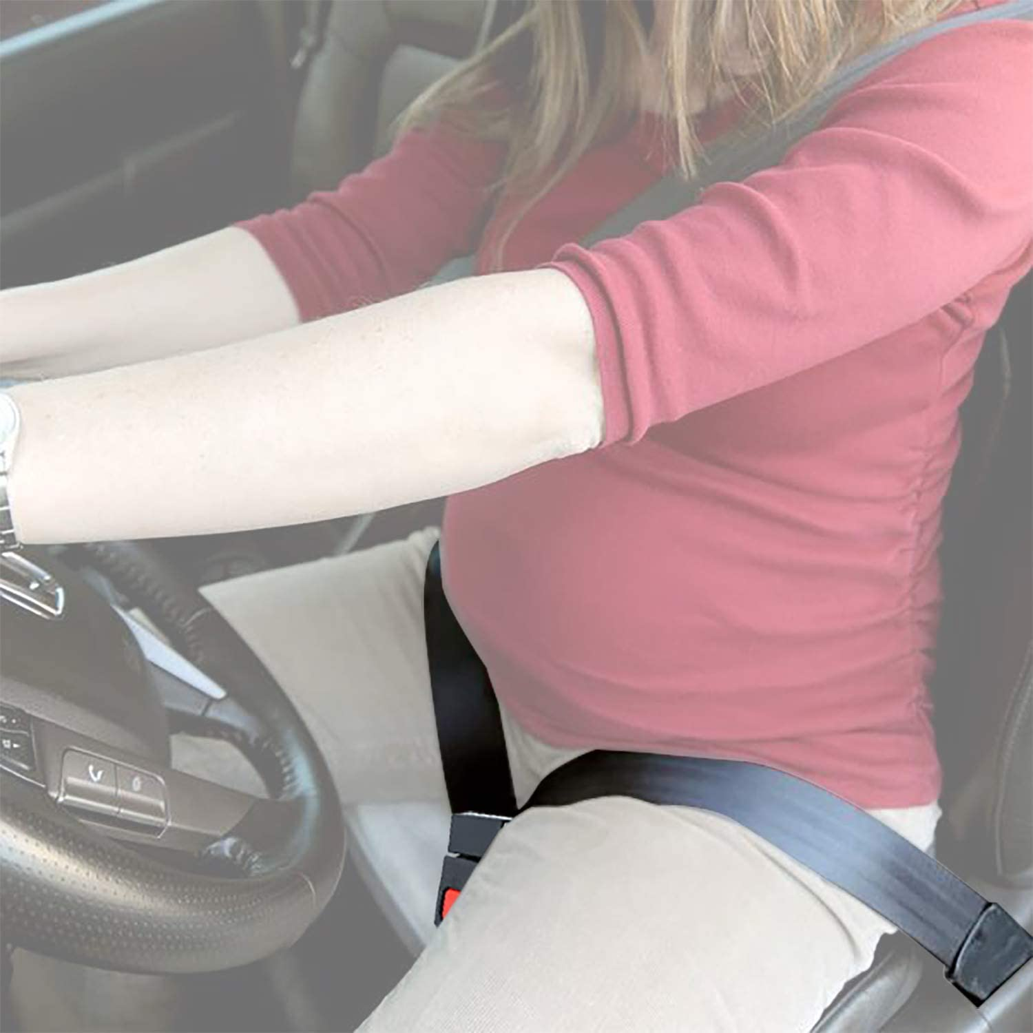 Bump Belt Maternity Car Seat Belt Adjuster Comfort /& Safety for Pregnant