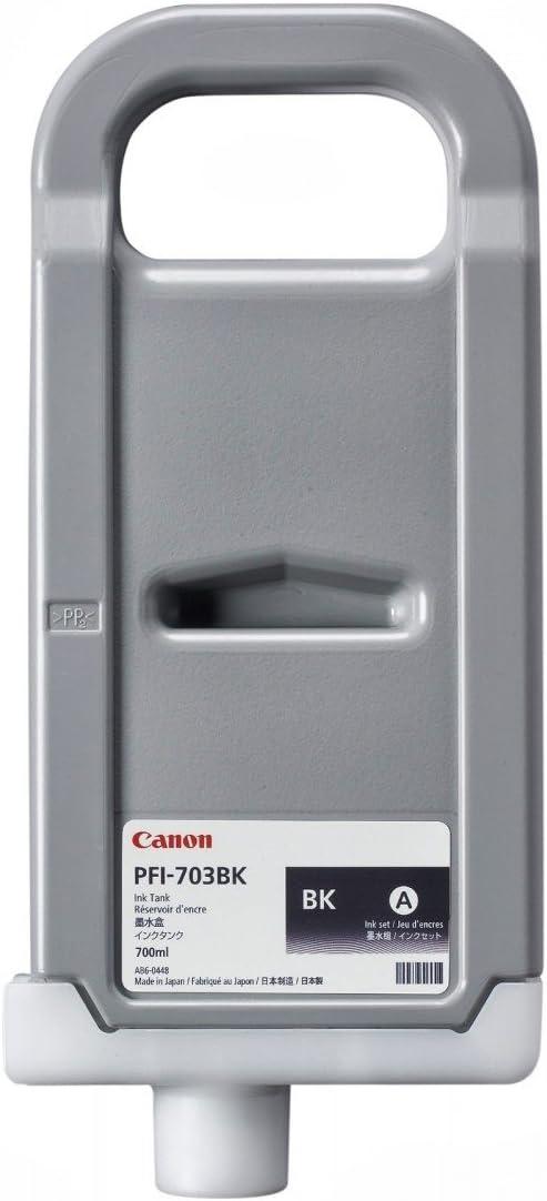 Canon PFI-703BK Black Ink Cartridge