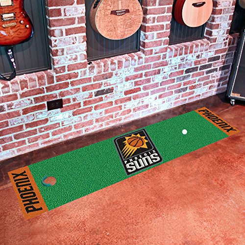 Fan Mats 9383 NBA - Phoenix Suns 18'' x 72'' Putting Green Mat by Fanmats