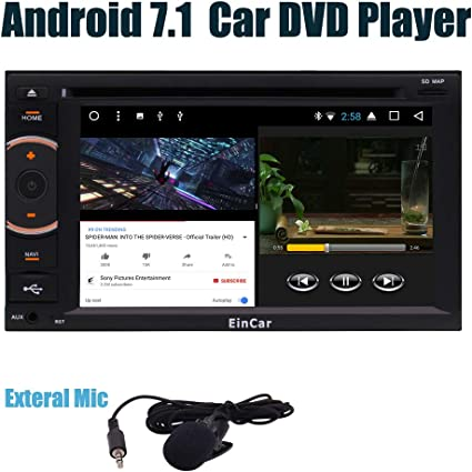 """7/"""" 1080P Android 7.1 Double 2Din Quad-Core 1+16G Car Stereo Radio GPS Wifi 3G//4G"""