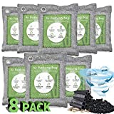 Vitscan 8 Pack Bamboo Charcoal Air Purifying