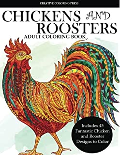 Amazon.com: Difficult Chickens: Coloring Book (9780692601945): Sarah ...