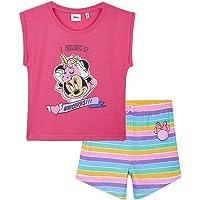 Disney Pijama Niña Corto, Minnie Mouse Pijamas Niña, Ropa Niña Algodon 100%, Pijama Unicornio Niña, Regalos para Niñas y…