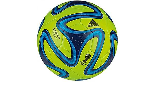 Adidas G73629-4 Brazuca Glider Green-Blue - Balón de fútbol ...